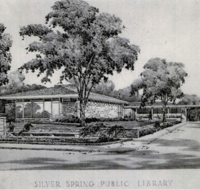 Historic Silver Spring Public Library Proposal Accepted