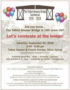 Talbot Avenue Bridge Centennial