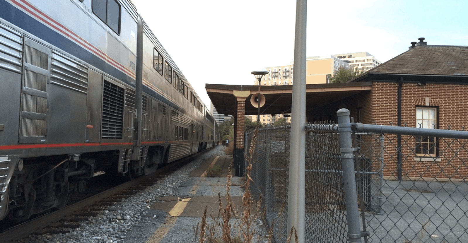 the historic Silver Spring B&O Station